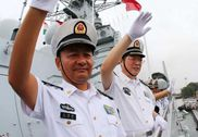 中国海军052C神盾舰停靠印度补给 尚属首次