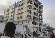 直击中国驻索马里大使馆:办公酒店被严重炸毁