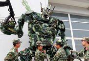 """我军还真有""""高达"""" :江苏武警历时3个月完成打造"""