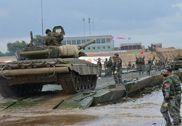 解放军舟桥部队在俄参赛画面曝光