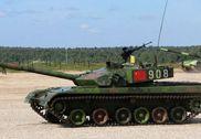 俄坦克大赛进入第二日 中国96A坦克首次登场