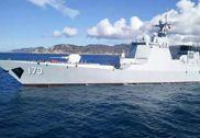 偶遇解放军第二艘052D:173号长沙舰帅气出海