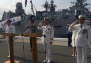 凤凰直击:中国海军编队抵俄罗斯符拉迪沃斯托克