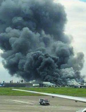 日本一天两爆炸 川崎重工钢铁厂爆炸起火浓烟滚滚