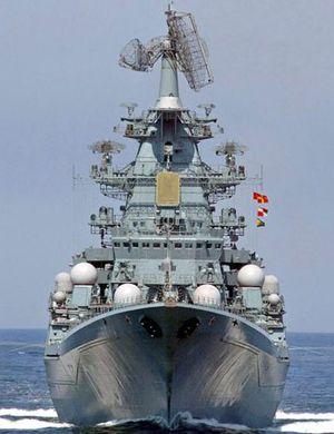 俄媒称莫斯科号巡洋舰在地中海掩护俄在叙基地