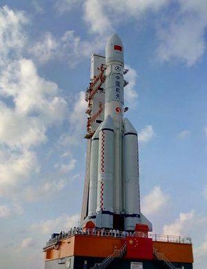 长征5号运载火箭在海南开展合练 明年首飞