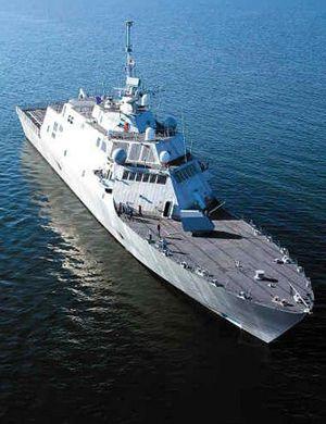 美最新濒海战斗舰将参加美军在南海水域巡逻