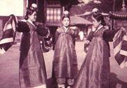 风俗朝鲜旧照:封建时代卖艺不卖身的妓生