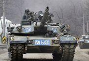 战备程度很高:韩军K-1主战坦克部队实战演练