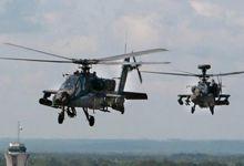 美军十几架阿帕奇攻击直升机同时升空 画风威武</h1>        <!-
