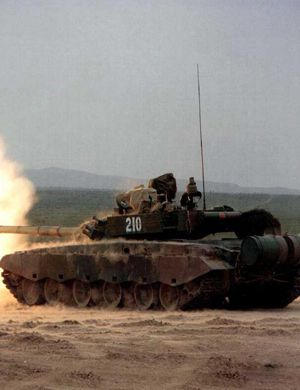 帅你一脸血:39集团军99坦克实弹射击震撼瞬间