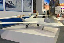 中国最新联翼无人机亮相北京 气动布局世界首创