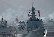 环太军演中国舰艇驶出珍珠港 开始海上实施阶段