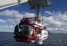 环太军演中美合练潜艇救援 中方深潜器先进科幻