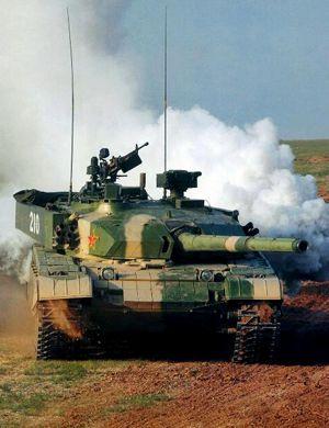 中国96B主战坦克正式抵达俄罗斯莫斯科