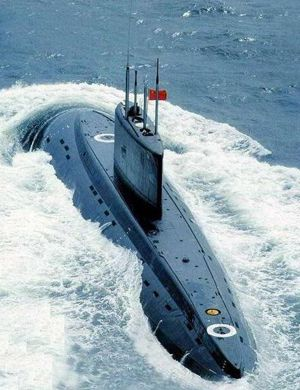 中国基洛级潜艇追踪美国航母半天 美反潜机监视