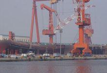 上翘舰艏装上了:国产航母甲板成功合拢 进度喜人