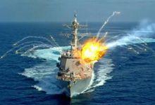 美对华神剧:宙斯盾舰被导弹打坏玻璃 击沉052D