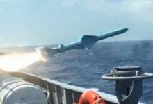 外军驾中国造先进护卫舰打靶 反舰导弹精确命中
