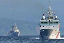 多国执法船齐集海参崴 中国海警船颜值碾压老对手