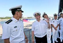 中俄海军互相参观参演舰艇 无畏老矣尚能饭否