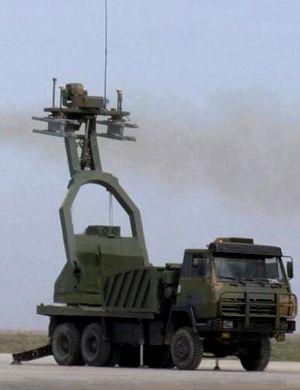 中国激光防空武器亮相南非 靶标神似美军无人机