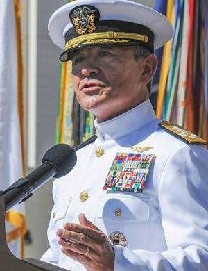 美国日裔司令访华将谈南海 部分观点与安倍相同