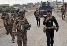 伊拉克士兵身穿中国07式荒漠迷彩战斗 效果出色