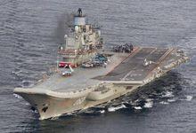 俄舰载机放弃航母全部进叙机场 一艘导弹艇被拖回