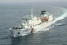 韩国海警首次出动480吨拖船对付中国渔船