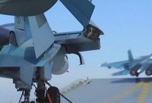 徒有其表:俄航母又摔一架苏-33 参战一月已摔2架