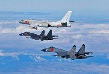 中国空军又绕飞台湾一周 日军机抵近发射干扰弹