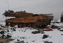土耳其军队在叙遭最惨重失败 豹2A4坦克被IS摧毁