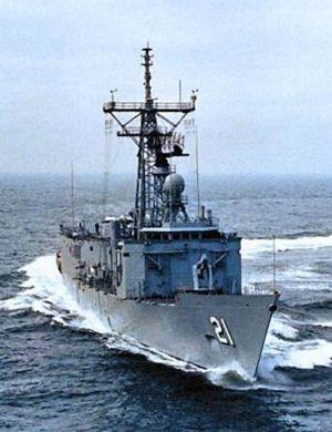 美国暂停对台湾出售4艘二手佩里级护卫舰