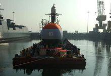 """印度第2艘鲉鱼级潜艇下水 遏制""""邻国航母威胁"""""""
