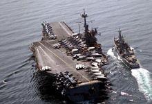 90年代老图揭露美海军强大战力 中国还需努力追赶