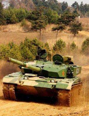 99坦克装甲厚达850毫米