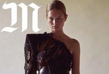 德国超模安娜-尤尔斯封面大片古典浪漫