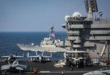 战争阴影还在!美国航母日本海演习 编队有雾霾