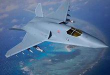 15年后或成真!网友绘假想中国六代战机CG图