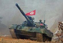 无敌铁牛!朝鲜最高领导人金正恩指导坦克大赛