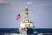 美航母刚出东海又进南海 起降舰载机多艘战舰护航