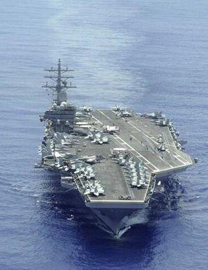 美里根号航母10月停靠釜山港 警告朝鲜发射卫星