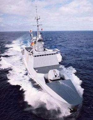 中国已不再羡慕!法国拉斐特级护卫舰和056轻护