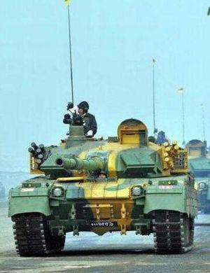 没有全部拿去养鱼啊!泰军假想敌部队的69坦克