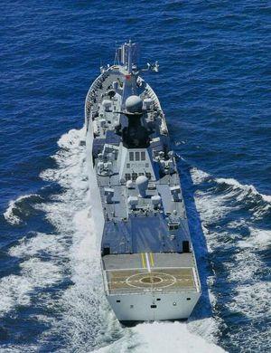 青年节看新青年!中国海军中坚力量054A护卫舰