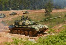 湾湾没有坦克比得上:解放军96A坦克在福建训练