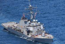 7人死亡:美公布被撞驱逐舰最新照片 刚结束南海活动