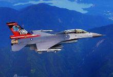 挺好看!台湾省F16战机814空战胜利80周年涂装
