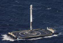 """美国""""二手""""火箭成功发射卫星 当天成功海上降落"""